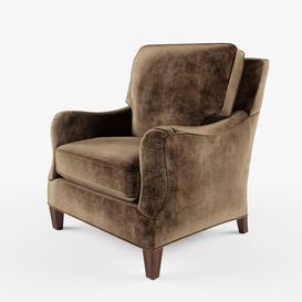 Wesley Hall 795 Berger Chair 3d model Download  Buy 3dbrute