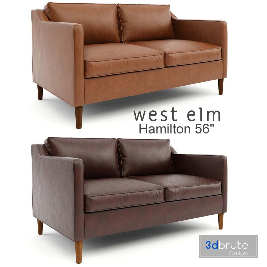 Leather Sofa 56 Model