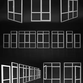 Windows and doors Elvial 3d model Download  Buy 3dbrute