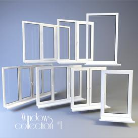 Windows collection 1 3d model Download  Buy 3dbrute