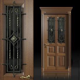 Wrought-iron front door 3d model Download  Buy 3dbrute