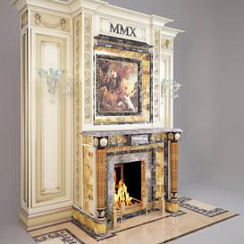 Fireplace F1 3d model Download  Buy 3dbrute