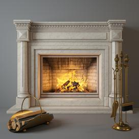 Fireplace F5 3d model Download  Buy 3dbrute
