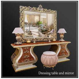 Dressing table M2 3d model Download  Buy 3dbrute