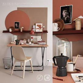 IKEA workplace 3d model Download  Buy 3dbrute