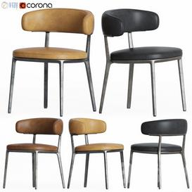 Caratos Maxalto Dining Chair Bebitalia 3d model Download  Buy 3dbrute