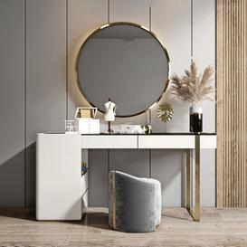 Dressing table K5 3d model Download  Buy 3dbrute