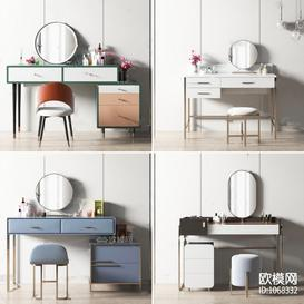 Dressing table K7 3d model Download  Buy 3dbrute