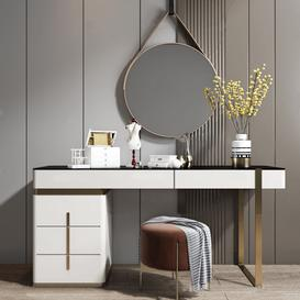 Dressing table K8 3d model Download  Buy 3dbrute