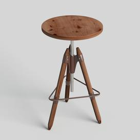 bar stool N1 3d model Download  Buy 3dbrute