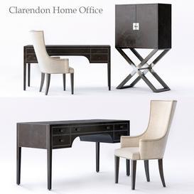 Bernhardt Clarendon Home Office 3d model Download  Buy 3dbrute