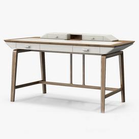 Giorgetti Studium Writing Desk 3d model Download  Buy 3dbrute