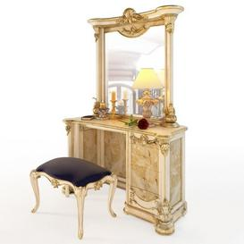 Dressing table M29 3d model Download  Buy 3dbrute