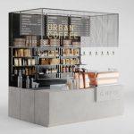 Coffeeshop 3d model Download  Buy 3dbrute