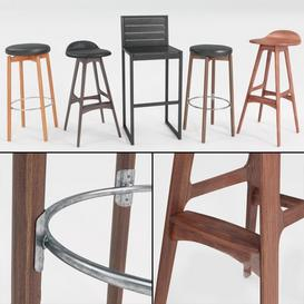 bar stool N3 3d model Download  Buy 3dbrute