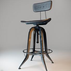 bar stool N2 3d model Download  Buy 3dbrute