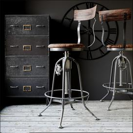 bar stool N4 3d model Download  Buy 3dbrute