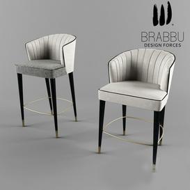 Brabbu nuka Bar stool 3d model Download  Buy 3dbrute