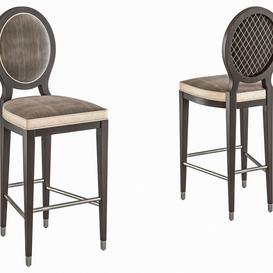 GRAND HOTEL Bar stool By Roche Bobois 3d model Download  Buy 3dbrute