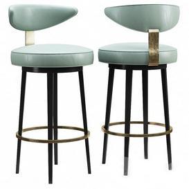 Claris bar stool 3d model Download  Buy 3dbrute