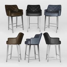 chair bar02 3d model Download  Buy 3dbrute
