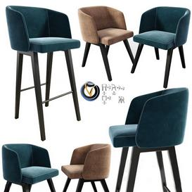 chair set N6 3d model Download  Buy 3dbrute