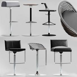 leather stool 3d model Download  Buy 3dbrute