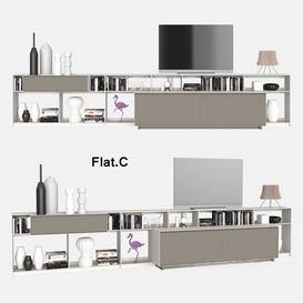 Flat C 10 3d model Download  Buy 3dbrute