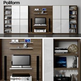 Varenna Poliform DAY SYSTEM 22 3d model Download  Buy 3dbrute