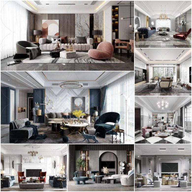 Living room vol3 2020 3d models