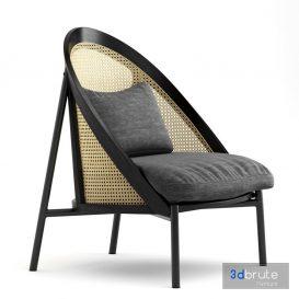 Loie Lounge Chair coronaLoie Lounge Chair corona