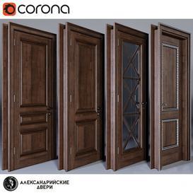 Alexandria Doors 3d model Download  Buy 3dbrute