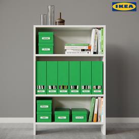 AVDALA bookcase & TJENA 3d model Download  Buy 3dbrute