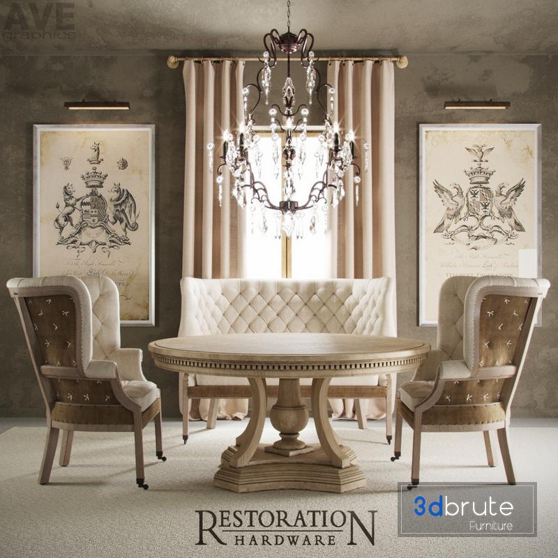 Ave Restoration Hardware English 19thc, Where Is Restoration Hardware Furniture Made