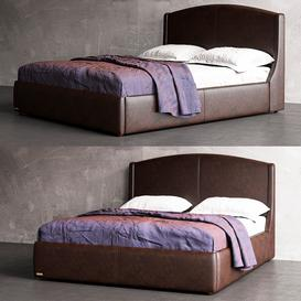 Bed Listre Two 3d model Download  Buy 3dbrute