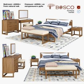 Bedroom Anna 3d model Download  Buy 3dbrute