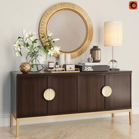 Bernhardt Decorative Set 3d model Download  Buy 3dbrute