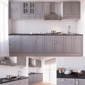 BODBYN Kitchen 3d model Download  Buy 3dbrute