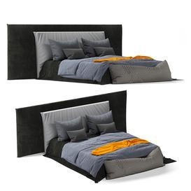 Boho Style Bed03 3d model Download  Buy 3dbrute