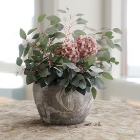 Bouquet of Eucalyptus with Hydrangea 3d model Download  Buy 3dbrute