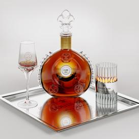 Cognac LOUIS XIII 3d model Download  Buy 3dbrute