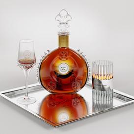 Cognac LOUIS XIII 3d model Download  Buy 3dbrute