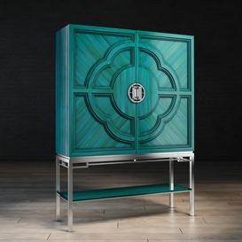 Chin Hua Lotus Bar Cabinet 3d model Download  Buy 3dbrute