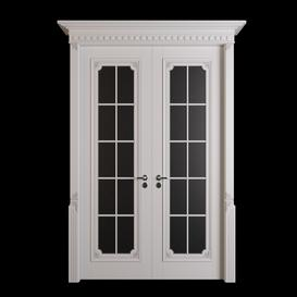 classic door 04 3d model Download  Buy 3dbrute