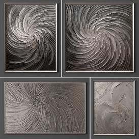 Collection of paintings-52 3d model Download  Buy 3dbrute