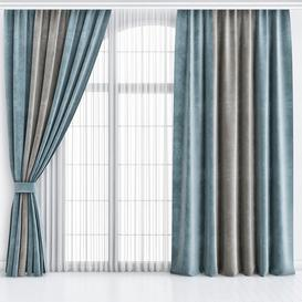 Curtains-20 3d model Download  Buy 3dbrute