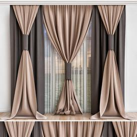Curtains-8 3d model Download  Buy 3dbrute