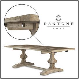 Dantone Home Table 3d model Download  Buy 3dbrute