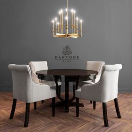 Dantone Home Table-Chair 3d model Download  Buy 3dbrute