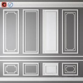 Moulding 8 3d model Download  Buy 3dbrute